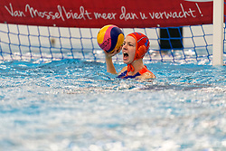 Joanne Koenders #1 of Netherlands in action during the friendly match Netherlands vs USA on February 19, 2020 in Amerena Amersfoort.
