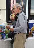 Woody Allen on the set of his Untitled Summer Project