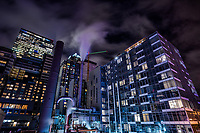 Enwave Seattle Power Plant & Cyrene Apartments, Downtown Seattle