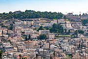The Palestinian village of Wadi Hilweh in Silwan, East Jerusalem