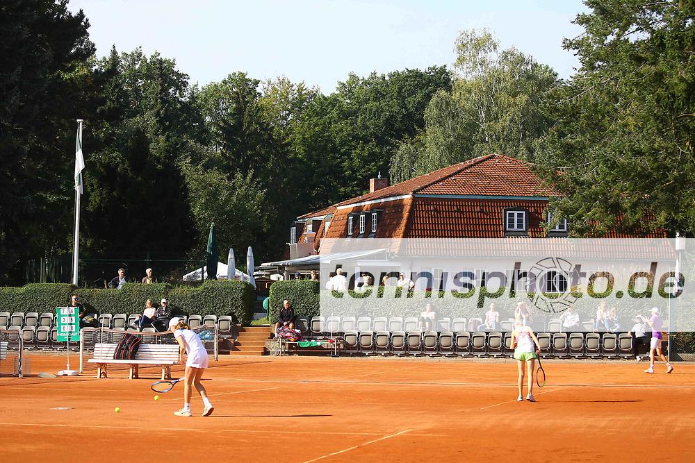 Tennis, 8. BTTC Junior-Cup 2021, Blick auf die Anlage des BTTC Grün-Weiß, Foto: Michael Hundt