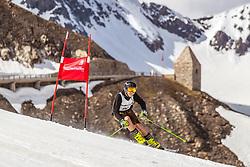 12.05.2018, Grossglockner Hochalpenstrasse, Fusch a.d. Glocknerstrasse, AUT, Großglockner Trophy Fuschertörllauf, im Bild ein Skifahrer in traditioneller Lederhose vor dem Fuschertörl // a skier in traditional leather pants in front of the Fuschertörl during the Großglockner Trophy Fuschertörl Skirace at the Grossglockner Hochalpenstrasse, Fusch a.d. Glocknerstrasse, Austria on 2018/05/03. EXPA Pictures © 2018, PhotoCredit: EXPA/ JFK