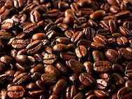 Papua New Guinea fair trade coffee beans stock Photos