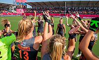ANTWERPEN -  Nederland prolongeert de titel.   De finale  dames  Nederland-Duitsland  (2-0) bij het Europees kampioenschap hockey.  COPYRIGHT  KOEN SUYK