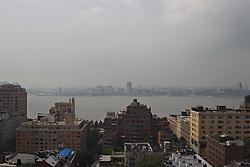 New York City facing Jersey City