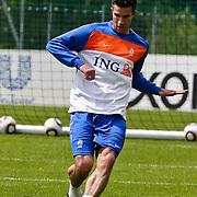 AUS/Seefeld/20100530 - Training NL Elftal WK 2010, Robin van Persie