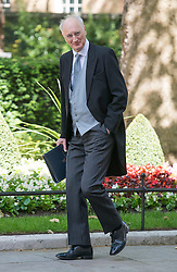 © Licensed to London News Pictures. 10/06/2014. Westminster, UK Sir George Young, Conservative MP, Chief Whip arrives at Cabinet 10th June 2014. Photo credit : Stephen Simpson/LNP