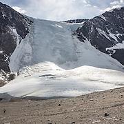 Seuss Glacier during the decent from the Nussbaum Riegel