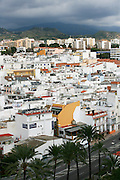 Spain, Andalusia, Marbella, Whitewashed houses