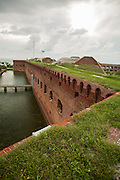 Fort Jefferson and Flag