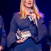 NLD/Amsterdam/20170916 - Uitreiking Majoor Boszhardprijs 2017, prijswinnaar Linda de Mol