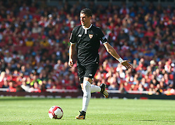 July 30, 2017 - London, England, United Kingdom - Sergio Escudero of Sevilla FC..during Emirates Cup match between Arsenal  against Savilla FC   at The Emirates Stadium in north London on July 30, 2017, the game is one of four matches played over two days for the Emirates Cup. (Credit Image: © Kieran Galvin/NurPhoto via ZUMA Press)