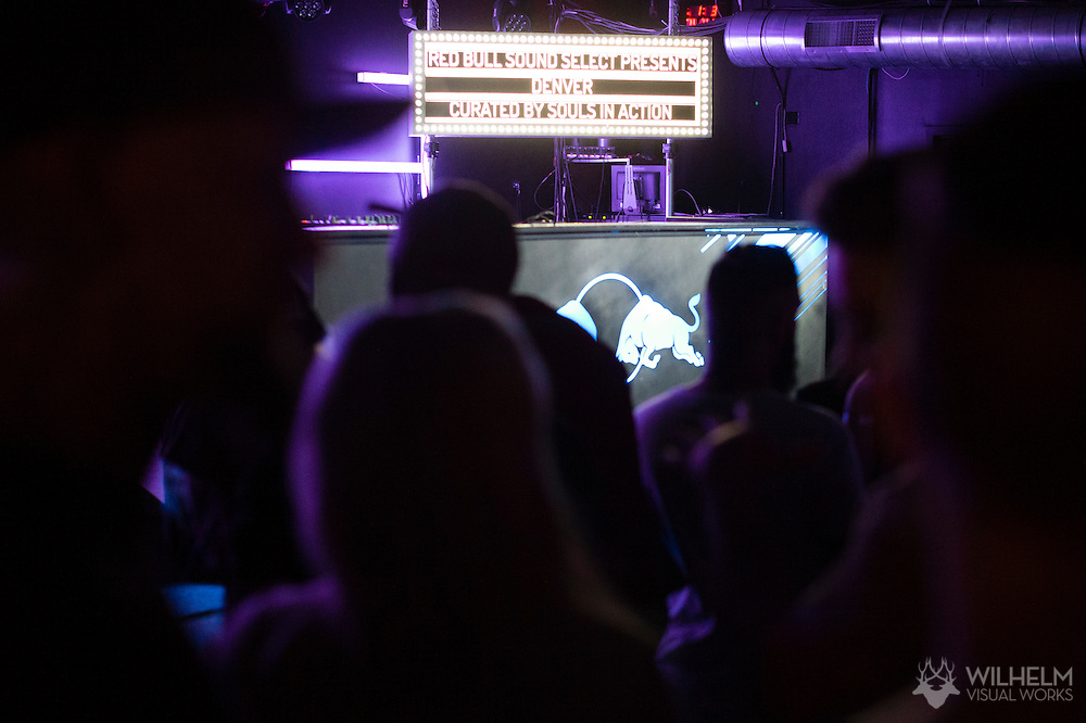 Artists perform at Red Bull Sound Select Presents Denver at The 1Up on Colfax in Denver, CO, USA, on 30 July, 2015.