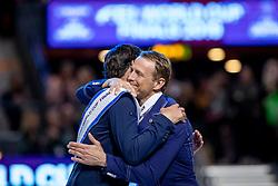 Guerdat Steve, SUI, Fredrikson Peder, SWE<br /> LONGINES FEI World Cup™ Finals Gothenburg 2019<br /> © Hippo Foto - Stefan Lafrentz<br /> 07/04/2019