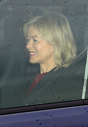 Lady Helen Taylor arriving for the Queen's Christmas lunch at Buckingham Palace, London.