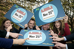 FG Parliamentary Party members and Young Fine Gael encourage young people to register to vote.<br /><br />Pictured at the launch were:<br />Rebecca Gregan, members of Young Fine Gael<br />Senator Neale Richmond – Dublin <br />Noel Rock TD – Dublin<br />Clodagh Murray, members of Young Fine Gael <br /><br /><br />On Tuesday, 21st November, members of the Fine Gael Parliamentary Party, and members of Young Fine Gael will encourage young people to register to vote, in advance of this Friday's deadline. With several high-profile referendums and elections expected in the next few years, it has never been more important for young people to register. The deadline for the 2017 register is 25th November.<br /><br /><br />More info Please contact <br />Michael Ward<br />Vice President<br />Young Fine Gael <br />51 Upper Mount St, <br />Dublin 2, D02 W924<br />Mobile: +353872130445 <br />Email: michael@yfg.ie<br />Web: https://www.yfg.ie/