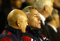 Photo: Chris Ratcliffe.<br /> England v France. U21 European Championships.<br /> 11/11/2005.<br /> Peter Taylor and  Ray Wilkins