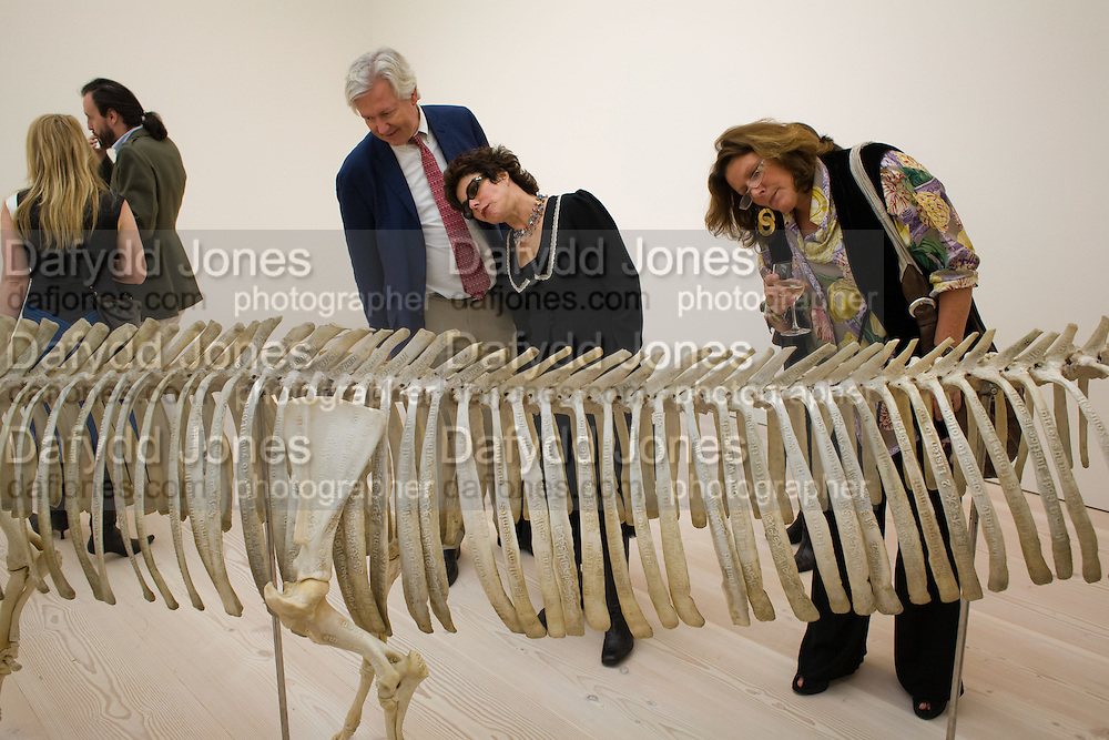 RUBY WAY; ROSAMOND COLLINS, The Revolution Continues: New Art From China. The opening of the New Saatchi Gallery. King's Rd.  London. 7 October 2008. *** Local Caption *** -DO NOT ARCHIVE-© Copyright Photograph by Dafydd Jones. 248 Clapham Rd. London SW9 0PZ. Tel 0207 820 0771. www.dafjones.com.