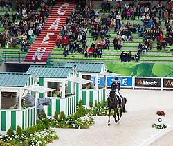 Kristina Sprehe, (GER), Desperados FRH - Grand Prix Team Competition Dressage - Alltech FEI World Equestrian Games™ 2014 - Normandy, France.<br /> © Hippo Foto Team - Leanjo de Koster<br /> 25/06/14