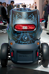 Concept electric Renault Twizy at Paris Motor Show 2010