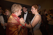JOANNA WHITAKER; STEPHANIE KALBER, THE 35TH WHITE KNIGHTS BALLIN AID OF THE ORDER OF MALTA VOLUNTEERS' WORK WITH ADULTS AND CHILDREN WITH DISABILITIES AND ILLNESS. The Great Room, Grosvenor House Hotel, Park Lane W1. 11 January 2014