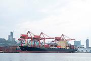 Image taken on the docks at the Sihanoukville Harbor, Sihanoukville, Cambodia.