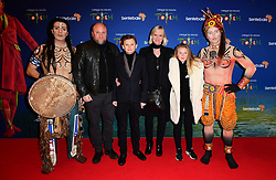 Harmione Norris and family attending the premiere of Cirque du Soleil's Totem, in support of the Sentebale charity, held at the Royal Albert Hall, London.