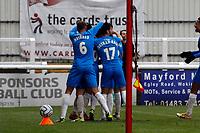 Connor Jennings. Woking FC 1-4 Stockport County FC. Vanarama National League. KIngfield Stadium. 30.1.21