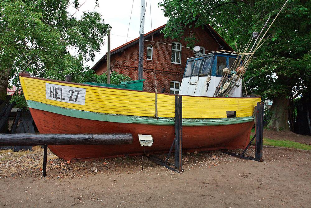 Kuter rybacki, Muzeum Rybolowstwa<br /> Hel Fishing cutter, Museum of the fishery