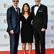 Leilani Ramirez (M) and guests Arrivers at the British Academy (BAFTA) Games Awards at Queen Elizabeth Hall, Southbank Centre  on 4 March 2019, London, UK.