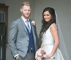 Ben Stokes' wedding - 14 Oct 2017