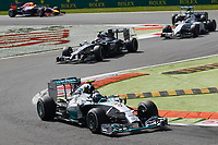 ROSBERG Nico (Ger) Mercedes Gp Mgp W05 Action  during the 2014 Formula One World Championship, Italy Grand Prix from September 5th to 7th 2014 in Monza, Italy. Photo Florent Gooden / DPPI