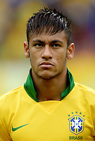 Fifa Brazil 2013 Confederation Cup / Group A Match /<br /> Brazil vs Japan 3-0  ( National / Mane Garrincha Stadium - Brasilia , Brazil )<br /> NEYMAR of Brazil , during the match between Brazil and Japan