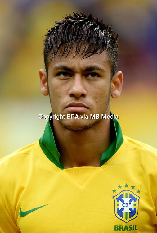 Fifa Brazil 2013 Confederation Cup / Group A Match /<br /> Brazil vs Japan 3-0  ( National / Mane Garrincha Stadium - Brasilia , Brazil )<br /> NEYMAR of Brazil , during the match between Brazil and Japan