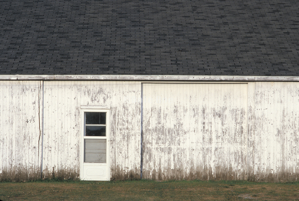 side of old barn