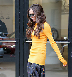 Victoria Beckham is seen in New York City.