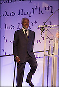 KOFI ANNAN, The fifth Prix Pictet prize of CHF100,000 Victoria and Albert Museum, London. 21 May 2014