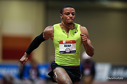 2020 USATF Indoor Championship<br /> Albuquerque, NM 2020-02-15<br /> photo credit: © 2020 Kevin Morris<br /> mens 60m, asics