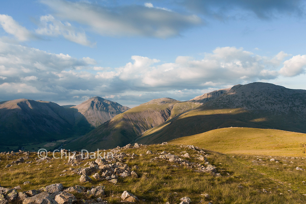 The view just gets better as you continue beyond the summit of Illgill Head