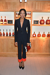 NAOMIE HARRIS at the launch of La Maison Remy Martin based at 19 Greek Street, London on 24th November 2014.