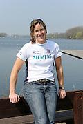 Hazewinkel, BELGIUM,  Katherine GRAINGER. at the   British Rowing Senior Trails, Bloso Rowing Centre. Monday  12/04/2010.  [Mandatory Credit. Peter Spurrier/Intersport Images]