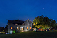 New Hampton, New York - Brown Barn Farms on the evening of July 21, 2016.