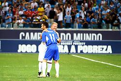 10ª edição do Jogo Contra a Pobreza - Match Against Poverty, na Arena do Grêmio, em Porto Alegre. FOTO: Lucas Uebel/Preview.com