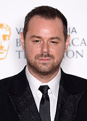 Danny Dyer in the press room during the Virgin Media BAFTA TV awards, held at the Royal Festival Hall in London. Photo credit should read: Doug Peters/EMPICS