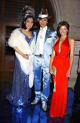 Left to right, PATTI WONG, ANDY WONG and DANNI MINOGUE at Andy & Patti Wong's annual Chinese New Year party, this year celebrating the year of the dog held at The Royal Courts of Justice, The Strand, London WC2 on 28th January 2006.<br /><br />NON EXCLUSIVE - WORLD RIGHTS