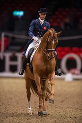 Biggs Hannah (GBR) - Weltzin<br /> Grand Prix - Reem Acra FEI World Cup Dressage Qualifier - The London International Horse Show Olympia - London 2012<br /> © Hippo Foto - Jon Stroud