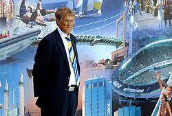 06-08-2006 ATLETIEK: EUROPEES KAMPIOENSSCHAP: GOTHENBORG <br /> De openingsceremonie van de 29th European Championships Athletics werd op de Gotaplatsen gehouden / Yngve Andersson, president Swedish Atlectics<br /> ©2006-WWW.FOTOHOOGENDOORN.NL