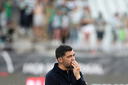 May 25, 2019 - Oeiras, Portugal - OEIRAS, PORTUGAL - MAY 25: Porto's head coach Sergio Conceicao reacts after losing the Portugal Cup Final football match Sporting CP vs FC Porto at Jamor stadium, on May 25, 2019, in Oeiras, outskirts of Lisbon, Portugal. (Credit Image: © Pedro Fiuza/NurPhoto via ZUMA Press)