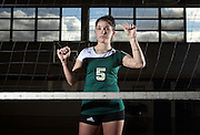 Louisa County high school volleyball player Emily Seay. Photo/Andrew Shurtleff