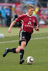 20.02.2010, EasyCredit Stadion, Nürnberg, GER, 1. FBL, 1. FC Nuernberg vs FC Bayern Muenchen, Saison 09 10, im Bild Mike Frantz (FCN #17). EXPA Pictures © 2010 for Austria, Italy and GBR only, Photographer EXPA / NPH / Becher / for Slovenia SPORTIDA PHOTO AGENCY.